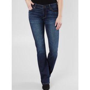 BKE Payton Mid Rise Bootcut Dark Wash Jeans Sz 31